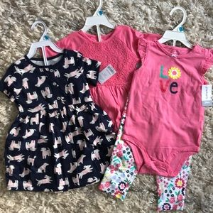 NWT carters 24m outfits